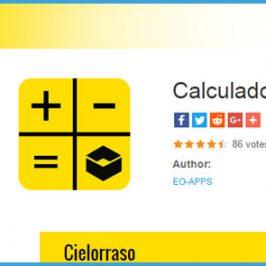 App Android para Calcular Materiales